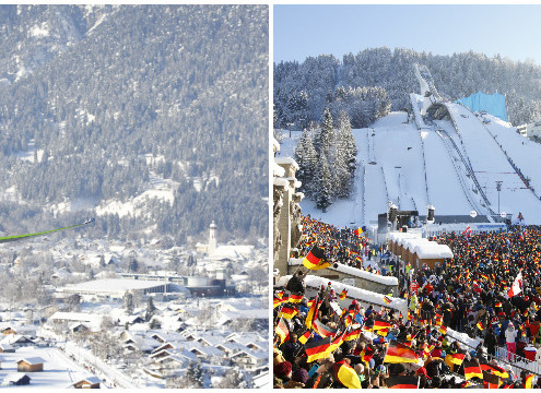 New Year's Ski jumping Event