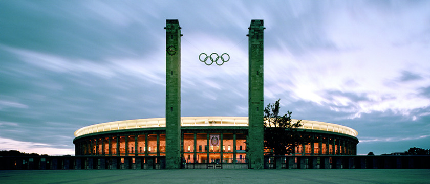 Olympiastadion outside
