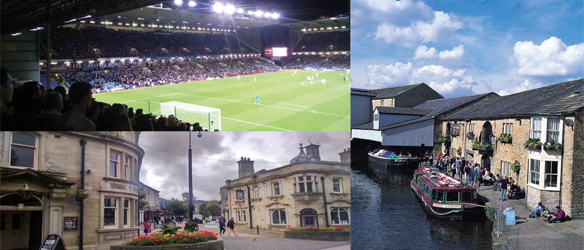 Burnley collage