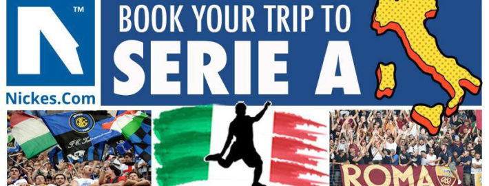 Serie A football trips and tickets