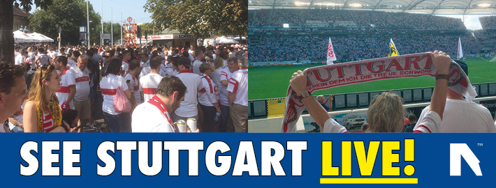 Book tickets and football trips to see Stuttgart live