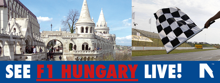Book Hungarian F1 Grand Prix 2018 tickets