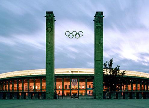 Olympiastadion outside