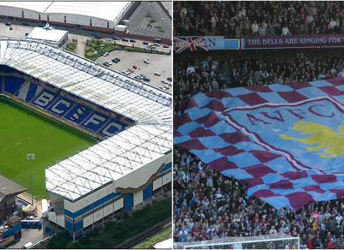 Aston Villa and Birmingham City FC