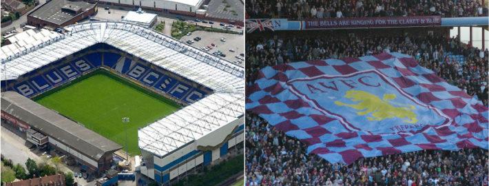 Aston Villa and Birmingham City FC
