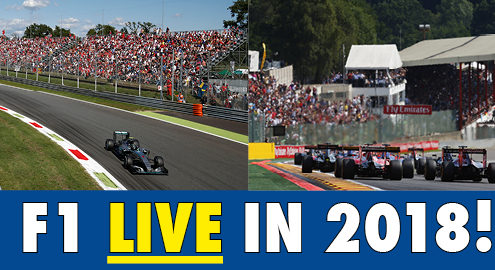 Book F1 2018 tickets and packages